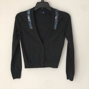 3 for $30 GAP | Cashmere Blend Beaded Cardigan